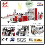 Heißes Sealing und Hot Cutting Bottom Sealing Einkaufstasche Machine