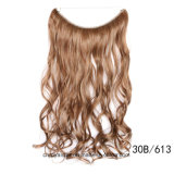 un Chip Long Wave Hair e New Hair Synthetic Weft