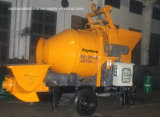 Mixer 15 M3の小型のDiesel Trailer Concrete Pump