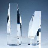Claro en blanco de la estrella del trofeo Crystal Award, Premio Estrella de Cristal
