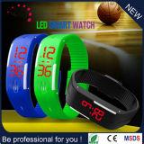 Vigilanza chiara di Srceen di tocco di Digitahi degli orologi della gelatina di sport LED Digital del silicone