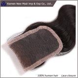 波状の人間の毛髪の拡張レースの閉鎖