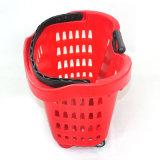 Escolhir a cesta de compra plástica do punho (ZC-13)