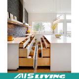 最もよい販売新しいデザイン高品質の木製のドア(AIS-K985)が付いている安い食器棚