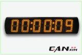 [Ganxinの]クリスマスLEDの秒読みの時間デジタル台所柱時計