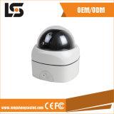 Alloggiamento bianco della macchina fotografica del CCTV di obbligazione di sorveglianza dell'alloggiamento PTZ di velocità della macchina fotografica esterna della cupola