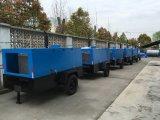 Compresor de aire rotatorio móvil del tornillo del motor diesel para la explotación minera