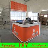 Cabine modular da exposição da feira profissional para o carrinho do interior da venda