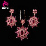Комплекты Jewellery Costum кубического Zirconia Китая CZ новые рубиновые