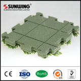 Natureza nova das idéias de Sunwing que bloqueia a telha artificial da grama
