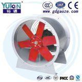 Da câmara de ar de alumínio vermelha da lâmina de Yuton ventiladores axiais