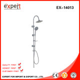Qualität Chromed Edelstahl Shower Set Circle Shower Head und Shower Hand