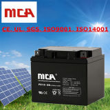 Sistemas do armazenamento da bateria da potência solar baterias do gel de 12 volts