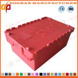 Gaiola plástica Foldable do recipiente da caixa de armazenamento do transporte (ZHtb31)