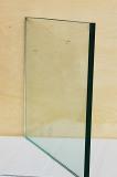La radura poco costosa ha piegato il vetro di costruzione temperato per uso decorativo