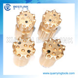 China Factory T51 Button Bit para Black Stone