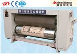 Máquina que corta con tintas rotatoria del rectángulo automático lleno del cartón con el alimentador