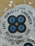 Cartão mudado cor do indicador de umidade (HIC) na boa qualidade
