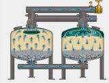 Отмелый средств фильтр песка для Pre-Treatment в удалении замутненности воды