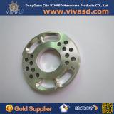 CNCの回転アルミニウムフランジのリングCNC機械化サービス