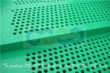 Tarjeta plástica de la absorción de agua con el orificio