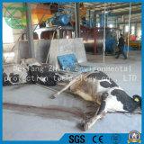 いろいろな種類の動物の死体または木製か大きいネット寸断機械