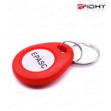 Étiquette de Keyfob d'IDENTIFICATION RF d'ABS de proximité utilisée sur le blocage de porte