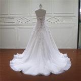 3D in rilievo fiorisce il più nuovo vestito nuziale dal merletto