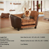 2016 New Design Luxury Leather Dog Sofa / Pet Products