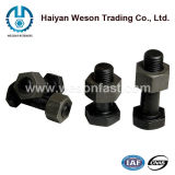 Steel inoxidable Hex Bolt avec Hex Nut et Washer