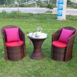 Hand-Spinnende Fünf-Stück Garten-Freizeit-Rattan-Großhandelsmöbel