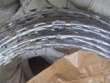 Тип поставщик Китая горячий окунутый гальванизированный Concertina перекрестный колючей проволоки бритвы