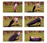 베스트셀러 가장 새로운 Lamzac 슬리핑백 소파, 판매를 위한 팽창식 공기 로비