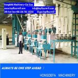 アフリカ(20t 50t 100t)のためのトウモロコシの製粉機機械
