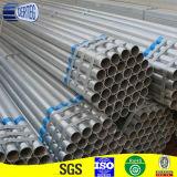 Talla redonda pre galvanizada del tubo de acero del invernadero