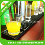 Drink Beer Soft PVC Rubber Bar Mat (SLF-BM024)