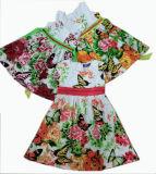 Mariposa del vestido partido de los niños en la ropa de los cabritos Sqd-101