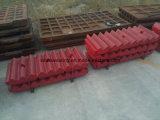 Les plaques de broyeur de maxillaire de l'usure partie la fonderie