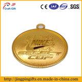 Una medaglia antica dei 2016 metalli con 3D il marchio Enggraving
