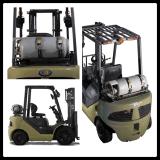 1.8 toneladas LPG e Forklift do combustível do dobro do Forklift da gasolina