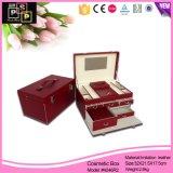 革新的な製品2016赤いレトロ様式の宝石箱