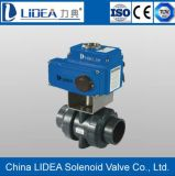 Alto Performance Electric 2 Way Ball Valve para Fluid Control