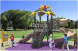 Campo da giuoco esterno di plastica compatto di Kaiqi per la sosta residenziale, parco di divertimenti, supermercato