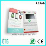 """4.3 """" LCD de VideoVertoning van de Reclame voor Hete Verkoop"""
