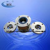 Tipo sanitário válvula da esfera da flange de verificação (100307)