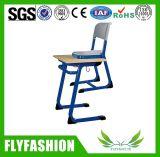 Silla de escritorio barata de la escuela de los muebles de la sala de clase sola (SF-21S)