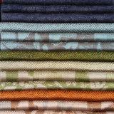 Garn gefärbtes Polsterung-Ausgangstextil-Polyester gesponnenes Sofa-Gewebe