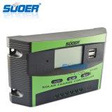 Do controlador inteligente novo do projeto de Suoer controlador solar solar do controlador 12V 20A da carga (ST-C1220)
