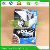 Sac de empaquetage stratifié scellé par dos d'aliment pour animaux familiers