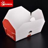 Kundenspezifische Marke gedruckter Papierburger-Kasten